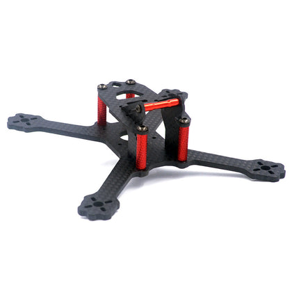 ALFA SQX135 135mm Wheelbase 3mm Arm 3K Carbon Fiber FPV Racing Frame Kit for RC Drone