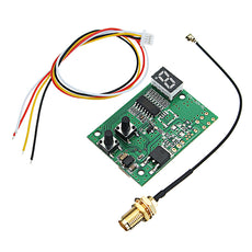 DIY 5.8G 40CH FPV AV Receiver RX Module Auto Search with LED Display For FPV Monitor Displayer