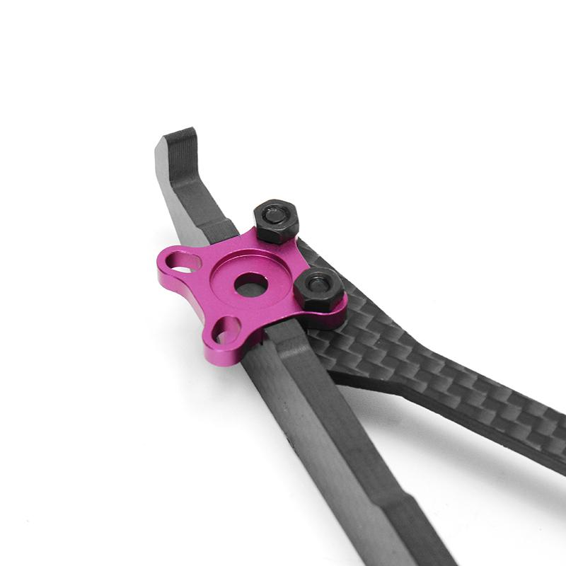 2pcs Realacc Real1S Stretch 5 Inch 4mm Carbon Fiber FPV Racing Frame (28% off coupon: 28rc)