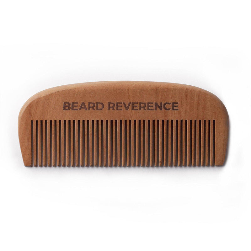 Beard Reverence wooden beard comb