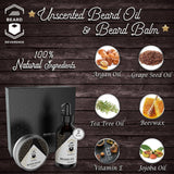 Beard Oil and Beard Balm Kit