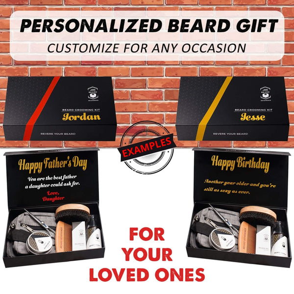 Customized Ultimate Beard Grooming Kit
