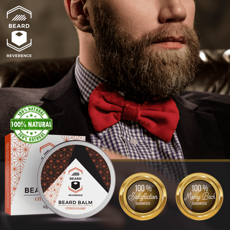 Beard Reverence Citrus Glory Beard Balm 100% satisfaction and 100% money back guarantee.