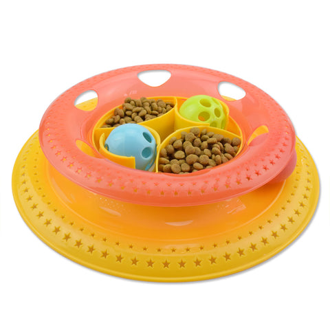 2 Levels Interactive Pet Bowl