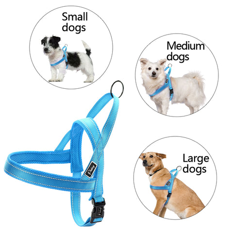 Reflective Harness for Small, Medium and Large Dog