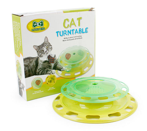 Cat Turntable Feeder
