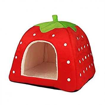 Strawberry Shaped Pet House