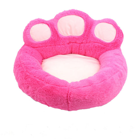 Paw-Shaped Pet Bed