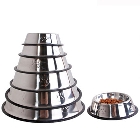 Premium Stainless-Steel Pet Bowl