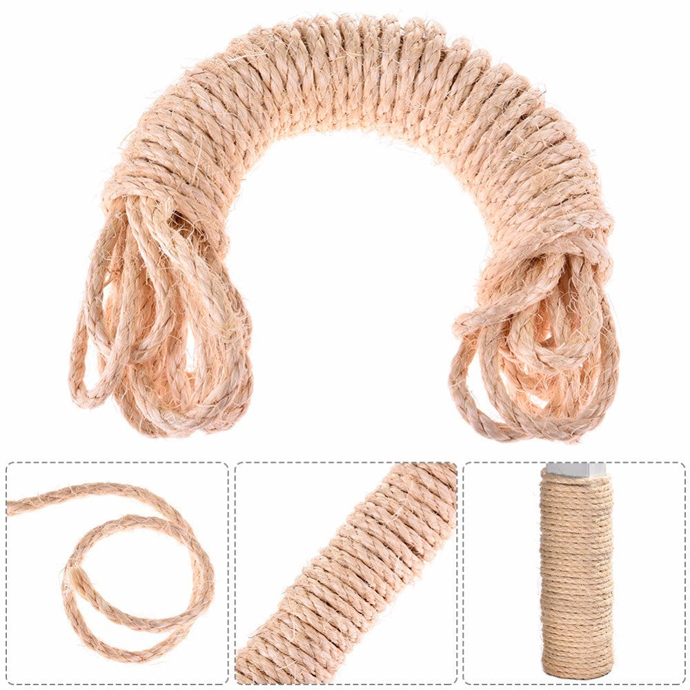 33 Feet Sisal Rope For Diy Cats Scratching Post My Pets My Passion