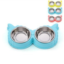 Premium Colorful Owl Shaped Pet Bowl