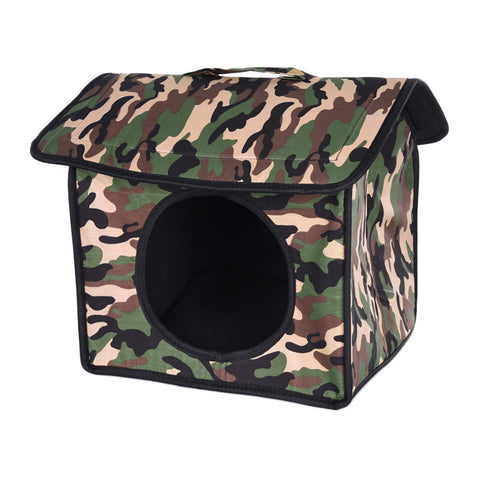 Camouflage Pet House