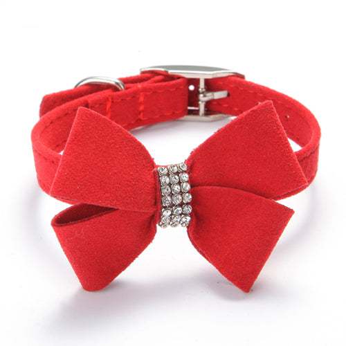 Good Collar Bow Adorable Dog - Soft-velvet-Adjustable-necklace-Collars-for-Dog-Pet-puppy-Cat-Rhinestone-BOW-cute-small-to-large_1ee29601-7beb-4e12-8172-0f263b77c9d5  Best Photo Reference_584762  .jpg?v\u003d1522164517