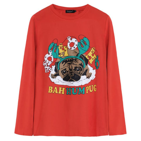 Pug Lights Sweater