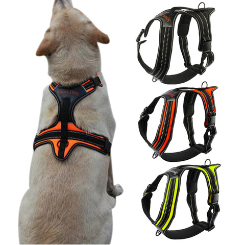 Nylon Sturdy Reflective Dog Harness
