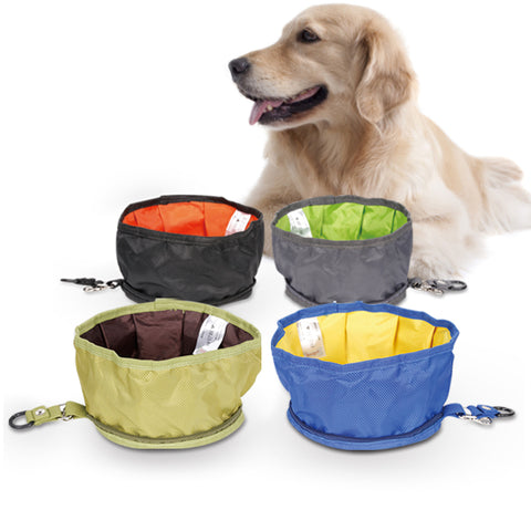 Pet Collapsible Fabric Travel Bowl