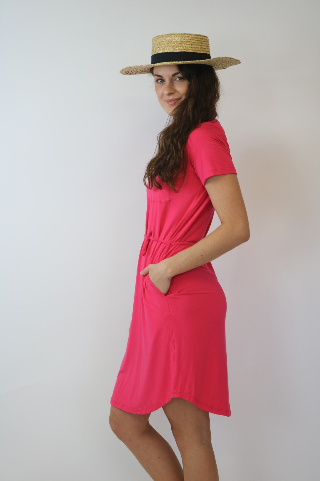 Bamboo Strawberry T-dress