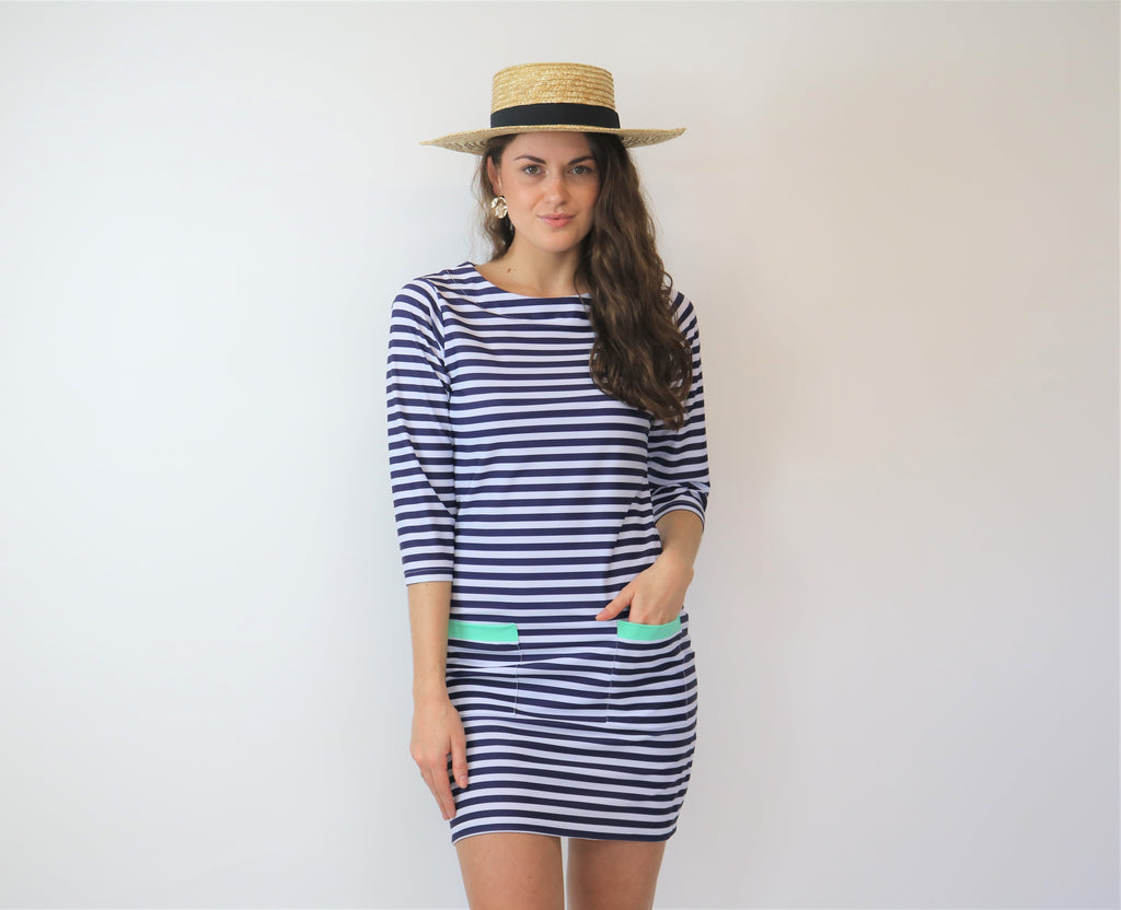 Nautical  Shift dress