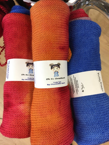 Ava Lu yarn sock blanks