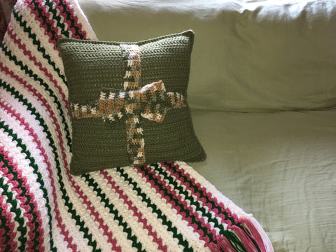 Square Accent Pillow - Housewarming