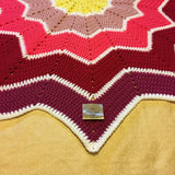 Star Ripple Blanket - Rose