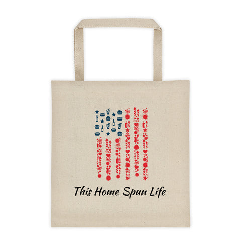 Canvas Tote bag - Happy 4th