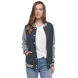 Women's Letterman Jacket - Wild Fox