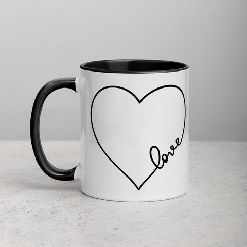 Mug with Color Inside - Galentine