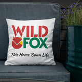 Premium Pillow - Wild Fox