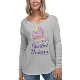 Cozy Long Sleeve Tee - Unicorn