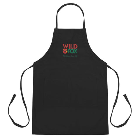 Embroidered Apron - Wild Fox
