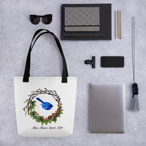 Tote bag - Bluebird
