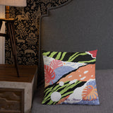 Premium Accent Pillow - Sassy Jungle