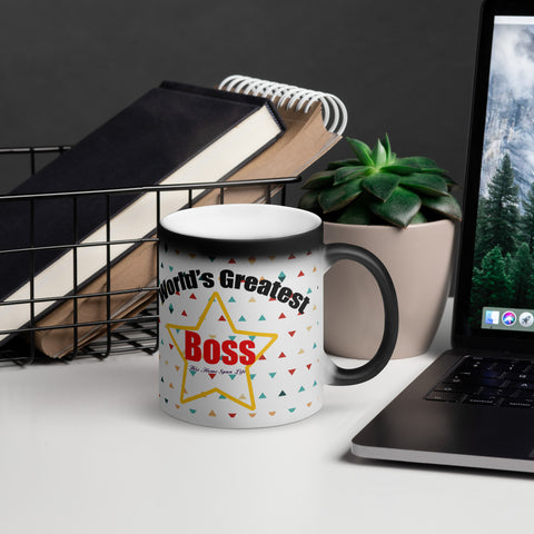 Matte Black Magic Mug - Boss