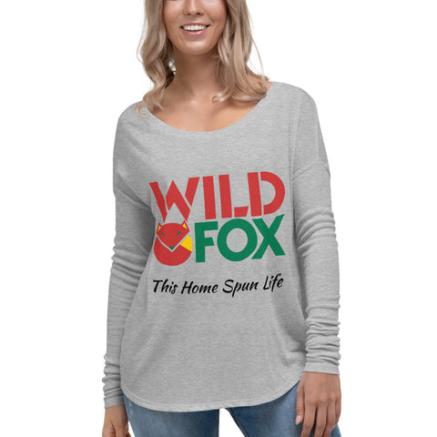 Cozy Long Sleeve Tee - Wild Fox