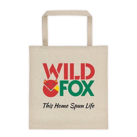 Canvas Tote bag - Wild Fox