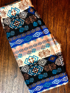 "S/M Leggings ""Fair Isle - Neutrals"""