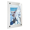 Acrylic Mounting Removable - 5 cm White Border