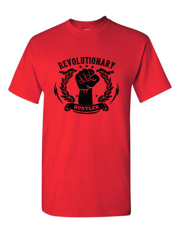 Red Short Sleeve Tee - Movement