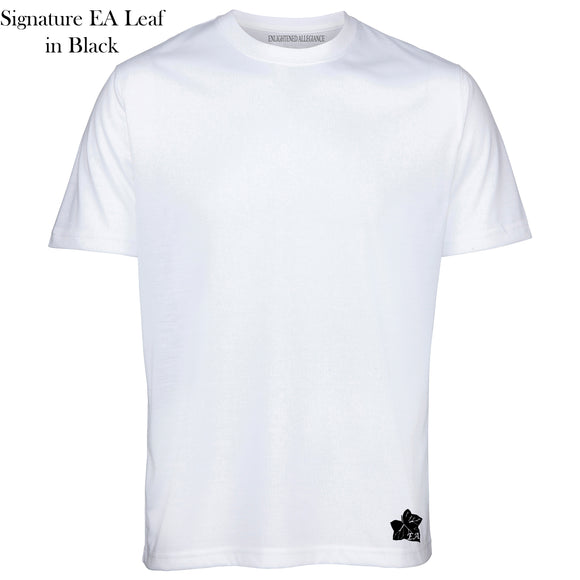 White Short Sleeve Tee – EA Leaf