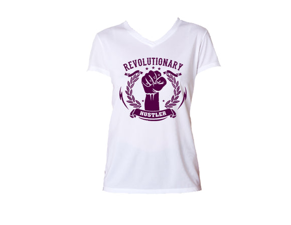 Women's V-Neck Tee – Movement