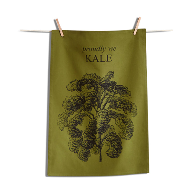 Proudly We Kale Dishtowel