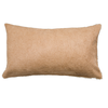 Saddlemans Beige Palmwood Cowhide Pillow, Lumbar