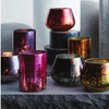 Caleido Curved Metallic Votive Holders (Set of 6)