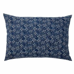 Pom Pom at Home Neela Big Pillow w/ Insert, Indigo