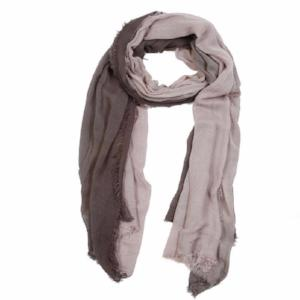 Pom Pom at Home Ombre Scarf, Grey/Olive