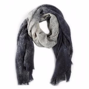 Navy Speckled Scarf