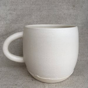 White Matte Ceramic Coffee Mug