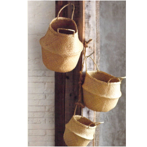 Convertible Seagrass Basket<br>+Multiple Sizes