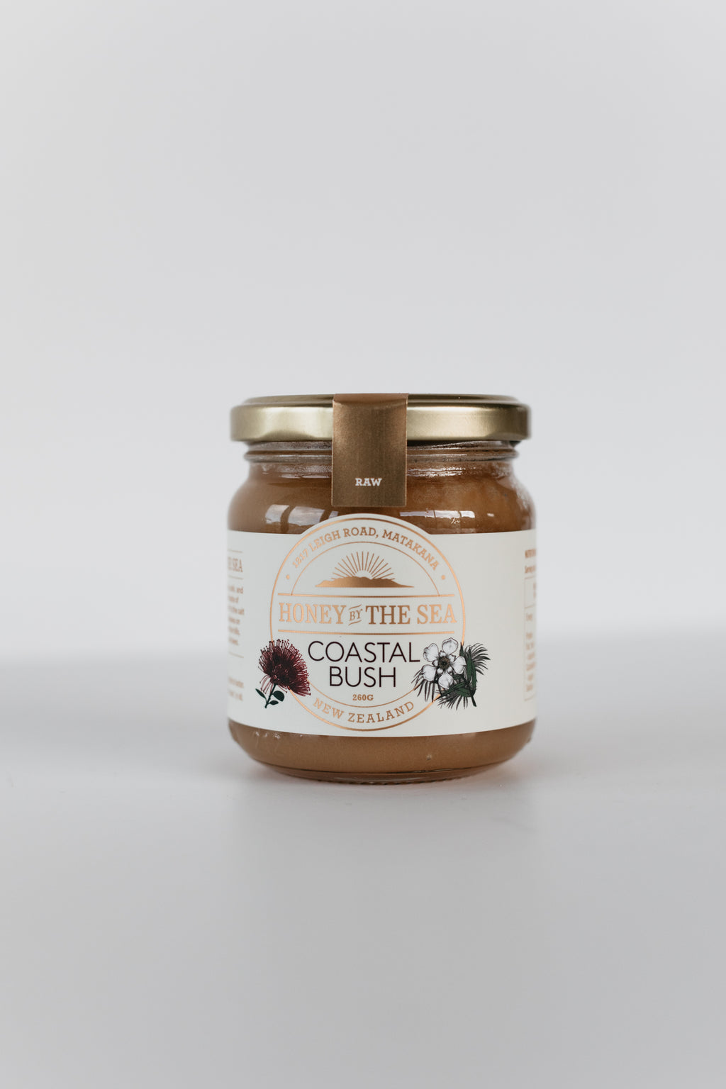 Coastal Bush Honey 260G Raw